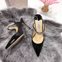 Jimmychoo  Women Casual Shoes Boots  fashionable casual leather