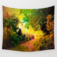 HEAVEN Wall Tapestry by 2sweet4words Designs