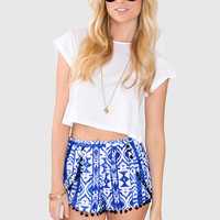Miley Pom Pom Shorts