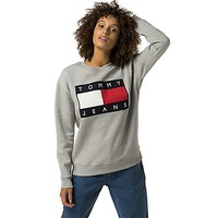 Tommy Jeans Flag Sweatshirt | Tommy Hilfiger USA