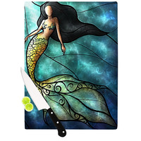 "Mandie Manzano ""Mermaid"" Cutting Board"