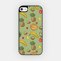 for iPhone 6/6S - High Quality TPU Plastic Case - Kiwi Pattern - Banana Pattern - Strawberry Pattern - Pineapple Pattern - Tropical Pattern - Fruit Pattern - Hipster