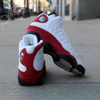 KU-YOU Air Jordan Retro 13 Cherry Red