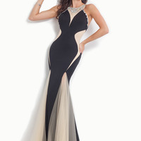 High Neck With Open Back Mermaid Prom Dress By Rachel Allan 6977
