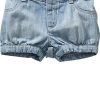 Old Navy Ruffled Twill Shorts For Baby
