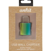 Ankit Rainbow USB Wall Charger | Forever 21 - 1000222148