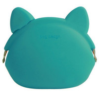 p+g design: Pochi Coin Purse Cat Turquoise, at 13% off!