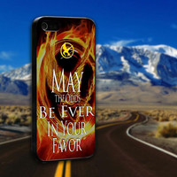 The Hunger Games Catching Fire Quote - ArtCover - Hard Print Case iPhone 4/4s, 5, 5s, 5c and Samsung S3, S4