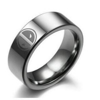 DeadPool Stainless Steel Ring, FREE SHIPPING!