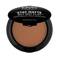 NYX Stay Matte But Not Flat Powder Foundation - Deep Dark - #SMP20