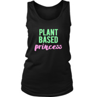 Plant Based Princess Vegan & Vegetarian Tank Top
