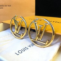 Louis Vuitton LV New Temperament Women's Letter Earrings
