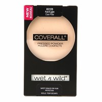 Wet n Wild CoverAll Pressed Powder, Fair/Light