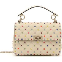 VALENTINO GARAVANI Medium Rainbow Rockstud Spike Leather Shoulder Bag | Nordstrom