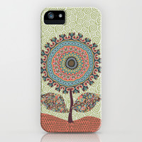 Fabby Flower-Vintage colors iPhone & iPod Case by Groovity