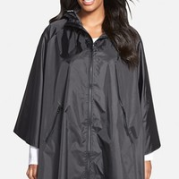 Plus Size Women's JUNAROSE 'Chica' Hooded Rain Cape