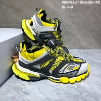 KUYOU Balenciaga Sneaker Tess.s.Gomma 3.0 Running Shoes Black Yellow