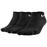 Nike 3 Pack Cotton Cush Low Cut w/ Moisture - Women's at Lady Foot Locker