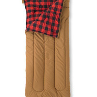 Camp Sleeping Bag, Flannel-Lined Kids' 40: Camping | Free Shipping at L.L.Bean