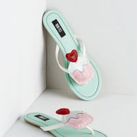 ModCloth Quirky Icing On the Cupcake Sandal