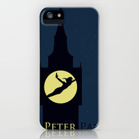 Peter Pan iPhone Case by Citron Vert | Society6