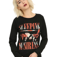 Sleeping With Sirens Gangsters Girls Pullover Top
