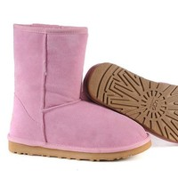 UGG 5825 snow boots pink