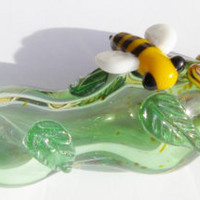 Glass pipe       Collecting Pollen Made To Order