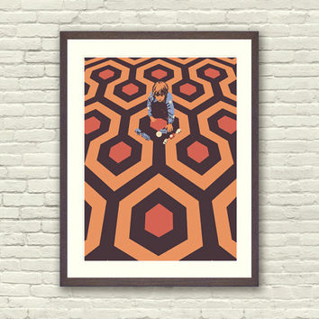 The Shining Danny Torrance Limited Edition Art Print
