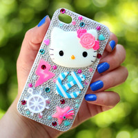 Hello Kitty Decoden iPhone 4 Case
