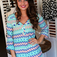 Chevron Craze Tunic