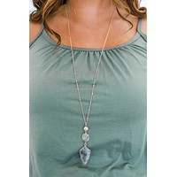 All In All Necklace - Grey