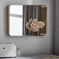 Brass Beauty Mirror