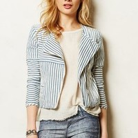 Whistle Stop Moto Jacket by Capulet Blue Motif S Jackets