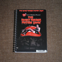 The Rocky Horror Picture Show Upcycled / Recycled DVD by lulumagoo
