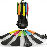 Colorful Home Kitchen Utensils Non-stick Cooking Tools Set of 6PCS Cookware and Bakeware New