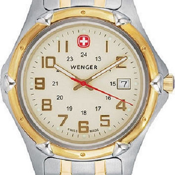 Wenger Two Tone Stainless Steel Men's Watch