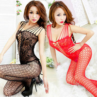 SZ131 2015 hot sale sexy lingerie hot bodystocking 8 color Sexy bodysuit open crotch fishnet bodystocking erotic Lingerie