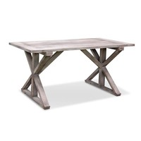 Meridian Grey Rustic Dining Table | Overstock.com Shopping - The Best Deals on Dining Tables