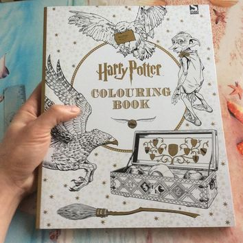 Harry Potter Adults Coloring Book 96 Pages