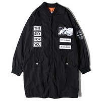 Sky Might Fall Bomber Jacket