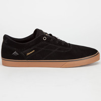 Emerica The Herman G6 Vulc Mens Shoes Black/Gum  In Sizes