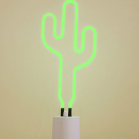 We All Need Somebody to Neon Light in Cactus