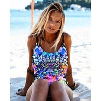 Beach New Arrival Swimsuit Hot Summer Swimwear Sexy Print Ladies Bikini [113149739023]