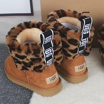 UGG Girls Casual Half Boots Trending Shoes Boots