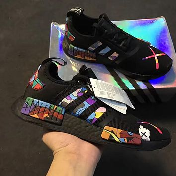 """""""Adidas"""" NMD kaws Casual Running Sport Shoes Sneakers"""