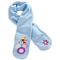 Anna and Elsa Scarf for Girls - Frozen - Personalizable