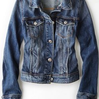 AEO Women's Classic Denim Jacket (Medium