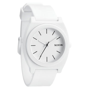 Nixon The Time Teller P Watch Matte White One Size For Men 19924515001
