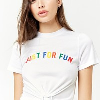 Just for Fun Graphic Tee